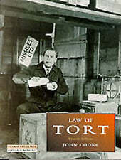 Law of Torts (Foundation Studies in Law Series), Cooke, John, Used; Good Book