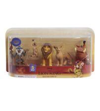 Disney The Lion King 5 Piece Collectible Figure Set 2019 Movie Simba Nala Timon