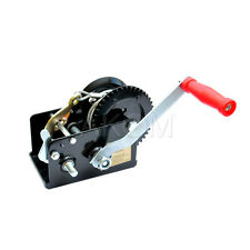 DRAGON WINCH ATV BOAT TRAILER 2500 lb HIGH QUALITY Hand Operated Winch 2 GEARS