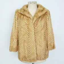 e84871874e Cappotti e giacche da donna beige in pelliccia taglia 44 | Acquisti ...