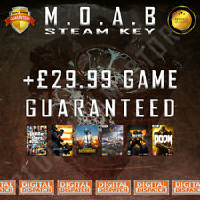 MOAB Premium Random Steam Keys Key Game GAMES (Guaranteed +£29.99 GAME)