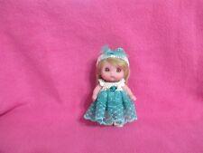 "Berenguer 5.5"" Lil Cutesies Baby Doll + Crochet Lace Dress Set Kemper Mohair Wig"
