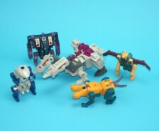 TRANSFORMERS G1 TERRORCONS ABOMINUS BOTS SET (NO ACCESSORIES) 1988 HASBRO