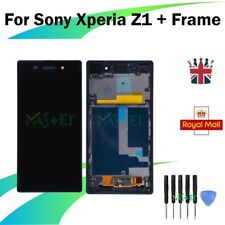 LCD Display Touch Screen Digitizer For Sony Xperia Z1 L39h C6903 + Frame Black