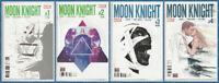MOON KNIGHT #1 2 3 4 SET (1st/ASSORTED PRINT) Marvel 2016 NM- NM