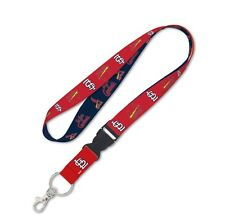ST. LOUIS CARDINALS LANYARD DETACHABLE BUCKLE BRAND NEW FREE SHIPPING WINCRAFT