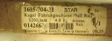 New Rexroth STAR GmbH 1200mm Long Ball Rail, Size 30, 1605-704-31