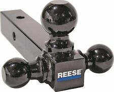 """NEW REESE TOWPOWER 21512 TRAILER HITCH TRI BALL BLACK 8"""" 3 IN 1 SALE 4540399"""