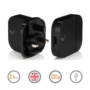 Mu USB Charger - The Original British Folding Charger
