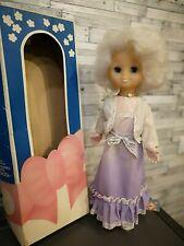 "Original. Vintage plastic doll ""Lizonka"" ""Лизонька 34; in a box. Height 50 cm."
