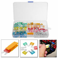 120pcs Mini Blade Fuse Assortment Set Auto Car Motorcycle SUV FUSES Kit Lot