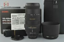 Excellent-!! Sigma APO 120-400mm f/4.5-5.6 DG OS HSM for Nikon