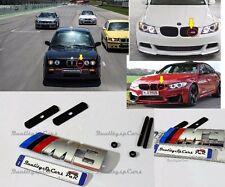 BMW M sport Emblema M3 Badge Logo Serie 3 F31,E90 GRIGLIA ANTERIORE FRONT GRILL