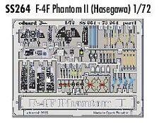 Eduard 1/72 F-4F Phantom II detailing etch for Hasegawa kit # SS264