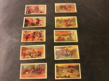 Hoadleys Wild West Cards - Complete Set - Near Mint - 1938