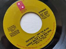 "HAROLD MELVIN & THE BLUE NOTES - Yesterday I Had The Blues / Ebony Woman SOUL 7"""
