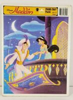 Disney Aladdin Frame Tray Puzzle Golden Kids Collectible #8200B-1 Complete