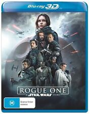 A Rogue One - Star Wars Story 3D (Blu-ray, 2017)