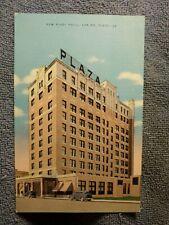 Vintage Postcard New Plaza Hotel, Laredo, Texas