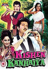 KISHEN KANHAIYA - ANIL KAPOOR - MADHURI DIXIT - NEW BOLLYWOOD DVD - FREE UK POST