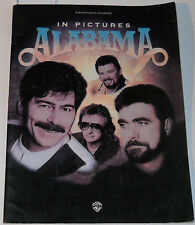 In Pictures Alabama Song Book 1995 Piano Vocal Chords 11 Songs