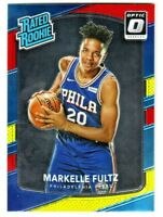 2017-18 Optic RATED ROOKIE RED YELLOW MARKELLE FULTZ RC Retail 76ers SP