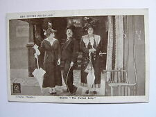 RED LETTER Postcard - Charlie Chaplin - The Perfect Lady - 1915