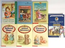 Little House on The Prairie Books Lot of 7 Laura Ingalls Wilder Collectors