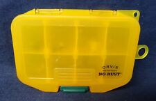 Orvis Rod and Tackle No Rust Small Fly Box with 10 Flies - Meiho Made in Japan