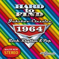New CD Hard To Find Jukebox Classics 1964 Rock Rhythm & Pop 29 Tracks 23 Stereo