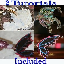 2 Collections on 1 Cd~Ooak Light & Dark Wing Designs w/Extras +Tutorials to Make