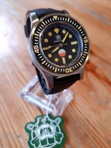 "STEELDIVE SD1952T ""SERIE"" Fifty Fathoms Automatic 300m Diver Watch *UK SELLER*"