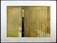 Andrew Wyeth Gravure Print HAY LEDGE & OPEN AND CLOSED, Cushing
