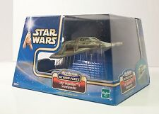 Star Wars Saga LUKE SKYWALKER SNOWSPEEDER Micro Machines Action Fleet 2002 NIB