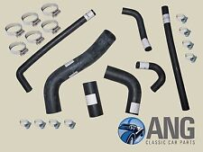 TRIUMPH TR6 PI REINFORCED RUBBER WATER, RADIATOR COOLING HOSES & CLIPS KIT