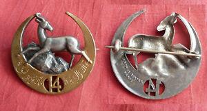 FRANCE Insigne 14e régiment de tirailleurs algériens 14e RTA ARTHUS BERTRAND