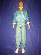 1968 Mattel Ken Bendable Legs Barbie Doll w/ Track Suit & Sneakers~LOOK~