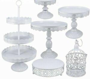 3 Tier Round Macaron Tower Cake Stand Tray Display Rack for Wedding Birthday