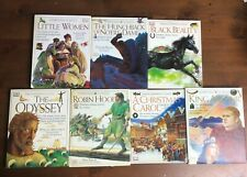 Lot 7 EYEWITNESS CLASSICS Robin Hood A Christmas Carol King Arthur Black Beauty