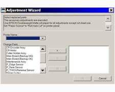 Epson Stylus Pro 9800 Service Program / Adjustment Wizard