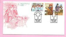 AUSTRALIA 1986 FDC - CHRISTMAS (Stamps)  - Shs MELBOURNE, Vic. 3000