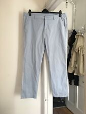 Peacocks Size Uk 18 Blue Trousers.    (a14)