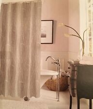 Dainty Home Woodbury Jacquard Shower Curtain, Taupe Standard