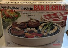 VINTAGE Dazey Indoor Electric Bar-B-Grill 1100 Watts USA Never Used