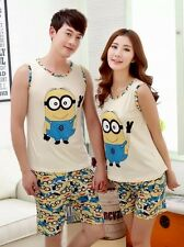 Despicable Me Minions Pajamas Set 2 Piece Tank Top Shorts NWT S M L or XL*