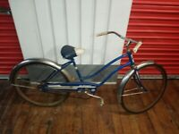 Vintage JC Higgins Bicycle Vintage Antique Bike lighting dart tires