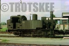 35mm Negative FS Italian Railways Steam Loco 835 258 1975 Italy Italia