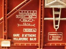 Electrotren 1450 H0, RENFE Viehtransportwagen mit Belüftung, Braun, VP, MD2