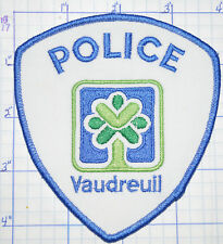 CANADA, VAUDREUIL POLICE DEPT QUEBEC PATCH