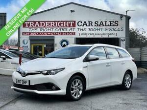 2017 Toyota Auris 1.8 VVT-h Icon Touring Sport Hybrid Auto 5dr Estate Automatic